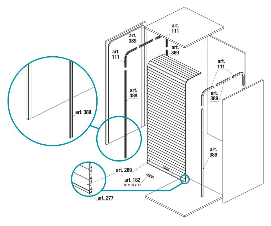 Serrande Avvolgibili Per Mobili.Fop Components For The Furniture Industry