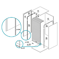Installation instructions for shutters